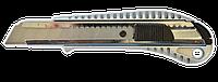 Нож для ремонтных работ 18мм металлический FAVORIT