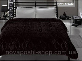 Плед/покрывало ТАС 160*220 RIVA черный