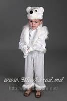 Карнавальный костюм Белый медвежонок, костюм Умка, Миша, Медведь, Мишка