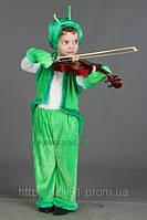 Карнавальный костюм Кузнечик, Сверчок (велюровый), костюм Кузнечика