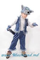 Карнавальный костюм Волк, Волчонок, детский костюм Волка велюровый