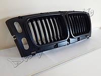Решетка радиатора ноздри тюнинг BMW E34 черный мат