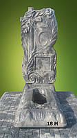 """Ритуальные памятники """"Высокая крест-роза (о.т.) и (о.)"""", Код 18"""