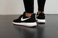 Женские кроссовки Nike Roshe Run Black