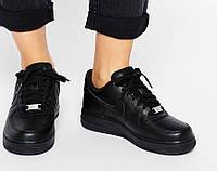 Женские кроссовки Nike Air Force Black