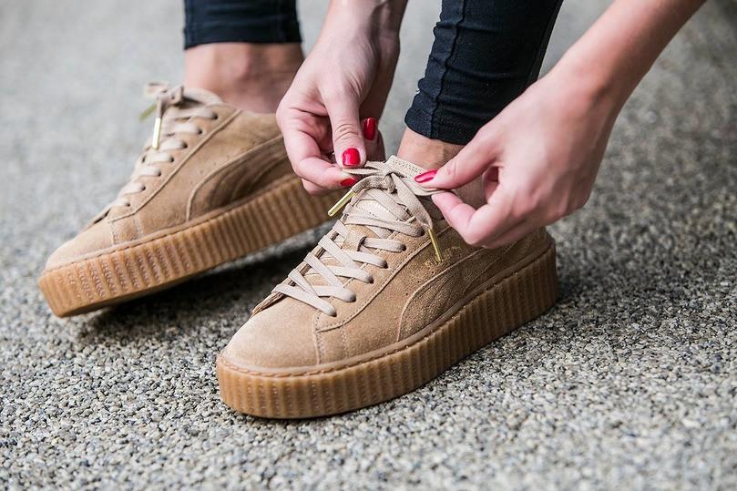 68b11d65ee4b Женские кроссовки Rihanna x Puma Suede Creeper - Интернет-магазин хайповой,  спортивной одежды,