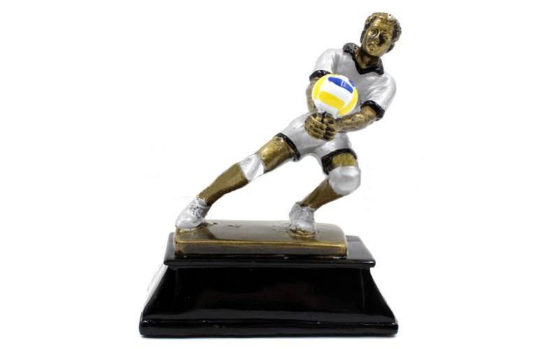 Статуэтка (фигурка) наградная спортивная Волейбол Волейболист C-3683-A11 (р-р 13х7x16см)