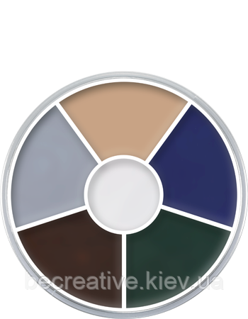 CREAM COLOR CIRCLE грим на кремовой основе от Kryolan (Zombie)