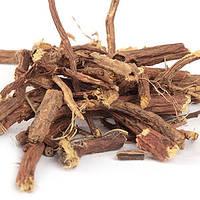 Солодка голая корень сушеный фасовка 100 грамм.