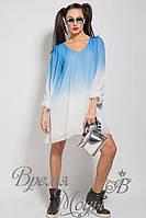 Лёгкое летнее платье-туника. Free Size 42-50