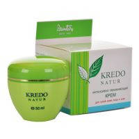 Dzintars Kredo Natur (Дзинтарс Кредо Натур) Интенсивный увлажняющий крем для сухой кожи лица и шеи 50 мл