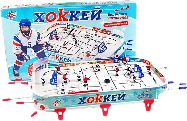 Детская игра настольный хоккей на штангах Limo toy