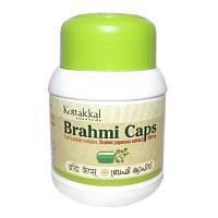 Тонизирующий и омолаживающий эффект Брахми в капсулах, 10 кратный экстракт, Коттаккал / Brahmi,  Kottakkal