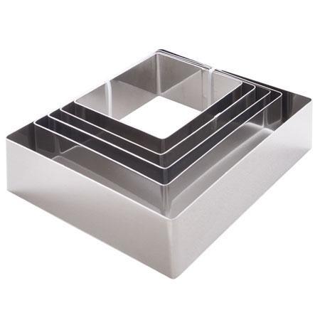 Набор форм для гарнира квадрат 5 шт