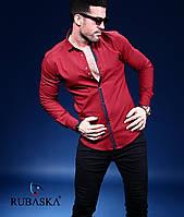 Рубашка мужская с длинным рукавом.  RSK-3026, фото 1