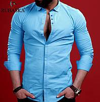 Рубашка мужская с длинным рукавом.  RSK-3033, фото 1