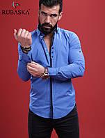 Рубашка мужская с длинным рукавом.  RSK-3040, фото 1