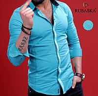 Рубашка мужская с длинным рукавом.  RSK-3043, фото 1