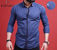 Рубашка мужская с длинным рукавом.  RSK-3044, фото 1