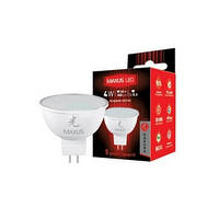Лампа светодиодная Максус 404 4Вт 5000К МР16