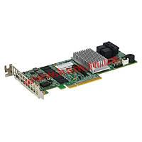 Контроллер Supermicro Low Profile 12Gb/ s Eight-Port SAS, RAID 0, 1, 5, 6, 10, 50, (AOC-S3108L-H8IR)