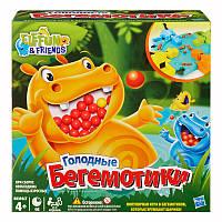 Hasbro Настольная игра Голодные бегемотики