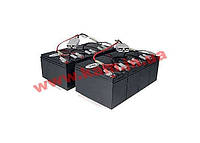 UPS Replacement Battery Cartridge Kit (2 sets of 4) for select APC UPS (RBC12A)