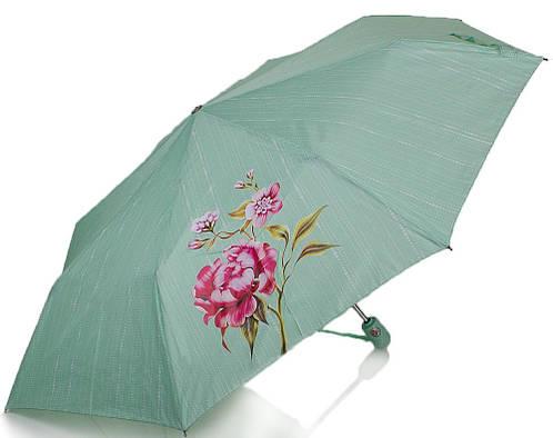 Зонт женский автомат Z3911-5187, цветзеленый, антиветер.