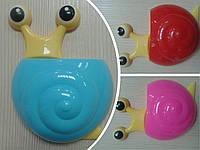 Держатель для зубной щетки и пасты (улитка)