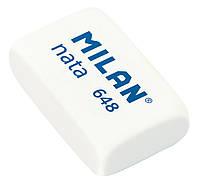 Ластик Milan 648 Nata прямоугольный (HB) 2*3 см.