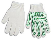 Перчатки Foresta белые (103 F) (10 шт./уп.)