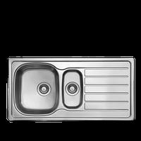 Кухонная мойка из нержавеющей стали LONGRAN HYP 1000.500 15 GT полированная
