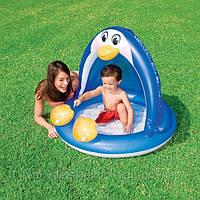 Детский надувной бассейн «Пингвин» Intex 57418