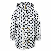 Куртка-парка для девочки с принтом 0310