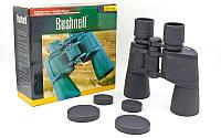 Бинокль BUSHNELL 10х50W TY-1511 (пластик, стекло, PVC-чехол)