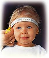 Окружность головы у детей. Таблица.
