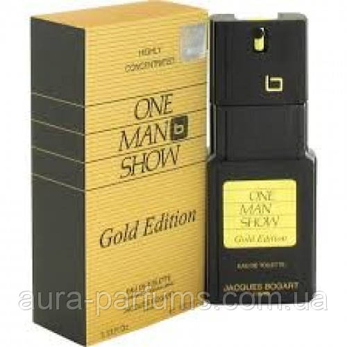 Jacques Bogart One Man Show Gold Edition edt 100 ml. . m оригинал
