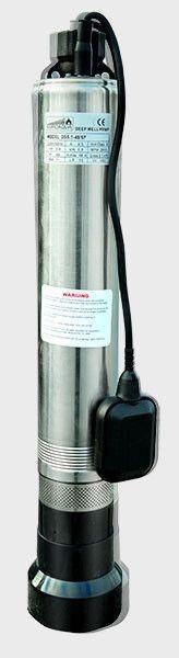 Глубинный погружной насос EUROAQUA  DS 5,1 - 48/6  с нижним забором воды и датчиком уровня воды