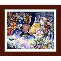 """Набор алмазной живописи (круглые камни) """"Прелюдия к поцелую"""" (по мотивам картины Жозефины Уол)"""