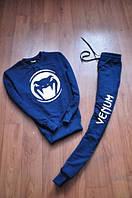 Спортивный костюм Venum синий, белый принт, ф757