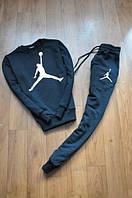 Спортивный костюм Jordan синий, модный, ф2588