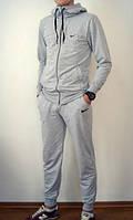 Спортивный костюм Nike серый кенгуру, унисекс, ф2623