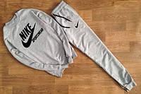 Спортивный костюм Nike серый, молодежный, ф2636