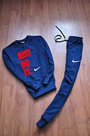 Спортивный костюм найк синий, крутой, ф2648