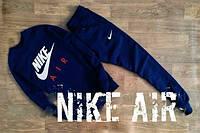 Спортивный костюм Nike синий, с прямыми штанами, ф2654