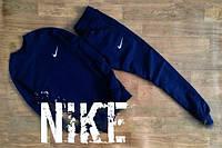 Спортивный костюм Nike синий, с манжетами, ф2660