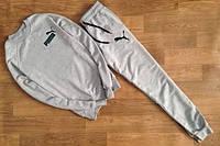 Спортивный костюм Puma серый цвет, ф2719
