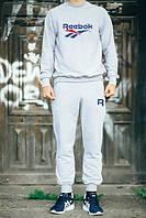 Спортивный костюм Reebok серый цвет, ф2729