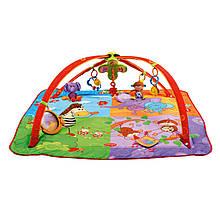 "Развивающий коврик «Tiny Love» (1201806830) с дугами 5 в 1 ""Разноцветное Сафари"""