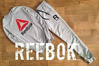 Спортивный костюм Reebok кросфит, серый цвет, ф2740